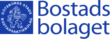 Bostadsbolaget's official logo